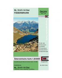 Fieberbrunn NL 33-01-14 Ost ÖK25V 3214 - Ost