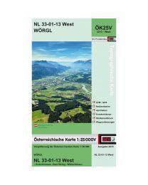 Wörgl NL 33-01-13 West ÖK25V 3213 - West