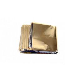 Rettungsdecke BasicNature Gold/Silber