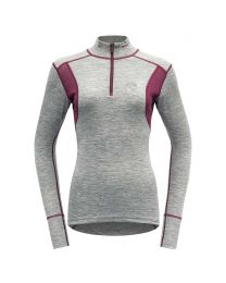BERGFUCHS HIKING WOMAN HALF ZIP NECK