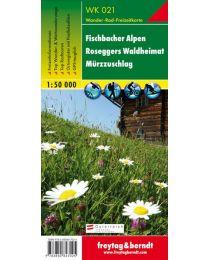 Fischbacher Alpen Roseggers Waldheimat Mürzzuschlag WK 021