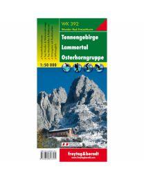 Tennengebirge Lammertal Osterhorn WK 392
