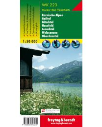 Karnische Alpen Gailtal Gitschtal Nassfeld Lesachtal Weissensee Oberdrautal WK 223