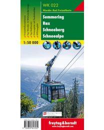 Semmering Rax Schneeberg Schneealpe WK 022