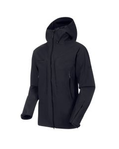 Mammut Masao HS Hooded Jacket Hardshell Jacke - black