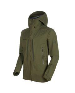 Mammut Masao HS Hooded Jacket Hardshell Jacke - iguana