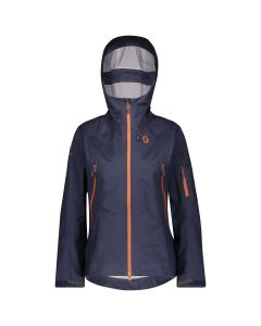 Scott Explorair 3L Damen Ski- und Freeridejacke - blue nights
