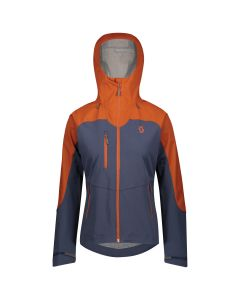 Scott Explorair Ascent Jackets W's Skijacke - brown clay/blue nights