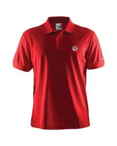 Bergfuchs Polo Classic Pique M - Bright Red