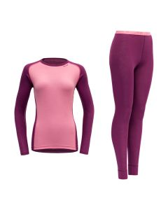Devold Multi Sport Woman Set - Crocus
