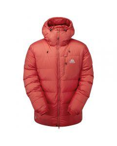 Mountain Equipment K7 Jacket, Farbe barbados red. Herren-Daunenjacke für Winterbegehungen / Expeditionen
