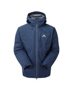 Wasserdichte Herren-Daunenjacke Mountain Equipment Triton Jacket. Farbe: cosmos