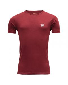 Devold Breeze Man T-Shirt Merinoshirt Syrah