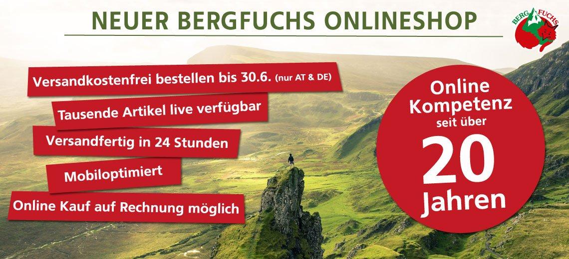 Neuer Bergfuchs Online Shop
