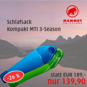 Angebot Mammut Schlafsack MTI 3-Season