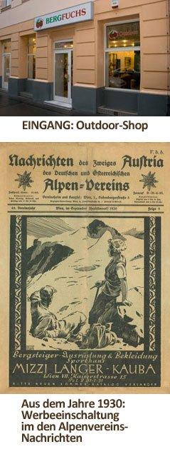 Bergfuchs ist Bergsport-Tradition seit 1896